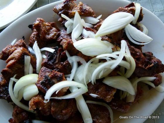 mutton shashlyk