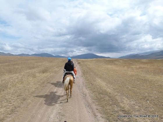 horse trekking koshkor