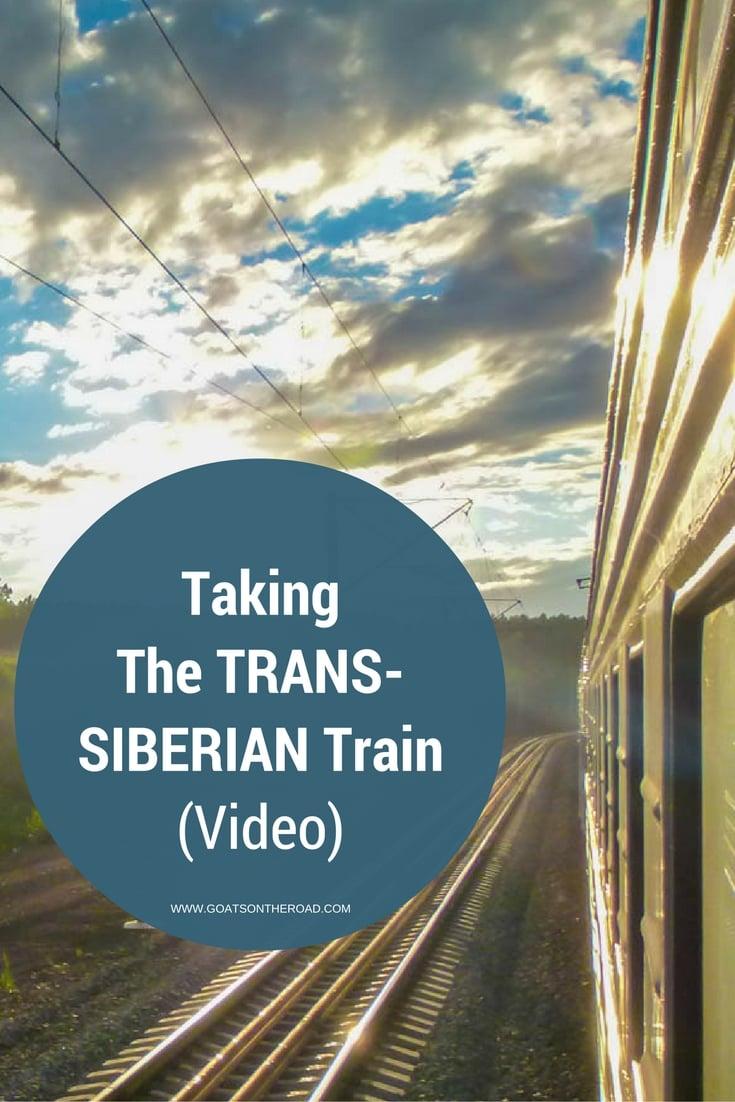 (VIDEO) Taking The Trans-Siberian Train