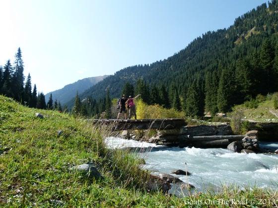 Trekking Near Karakol, Kyrgyzstan is outstanding
