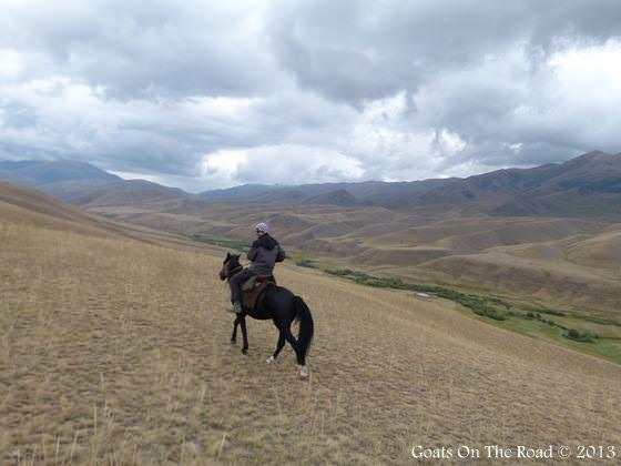 Horse Trekking To Song-Kol Kyrgyzstan