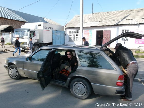 Shared Taxi In Kyrgyzstan