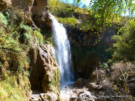 waterfall arslanbob