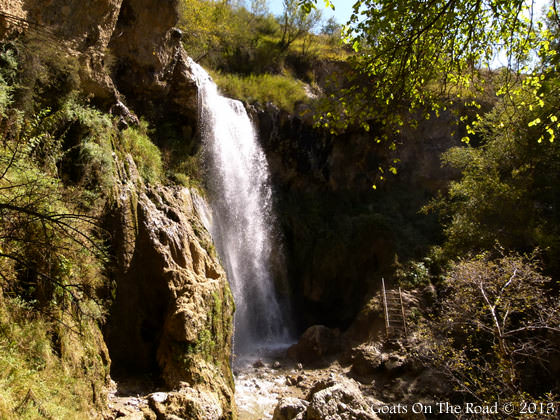 The Small Waterfall Of Arslanbob