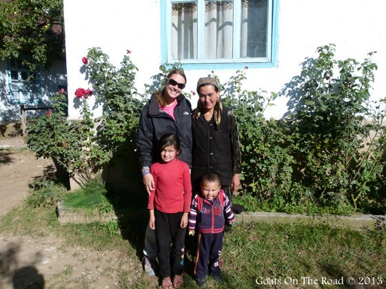 Central Asia A Homestay Family In Arslanbob