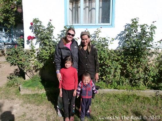 A Local Family In Arslanbob