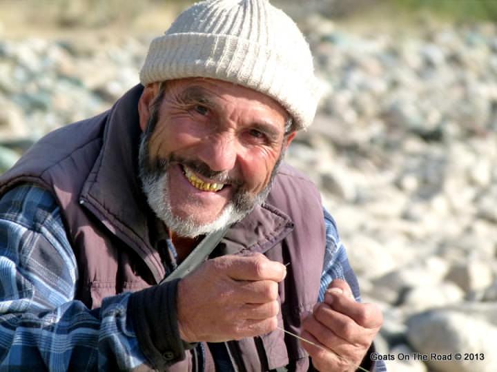fisherman kyrgyzstan