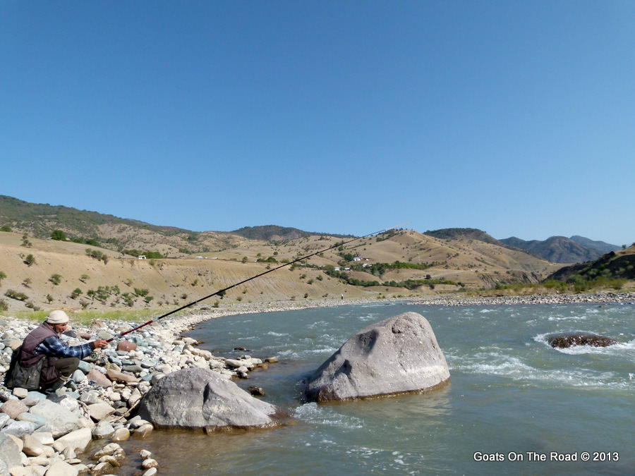fishing kyrgyzstan