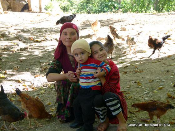 family in kyrgyzstan