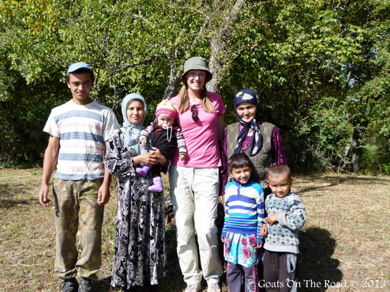 The Lovely Walnut Forest Family Arslanbob