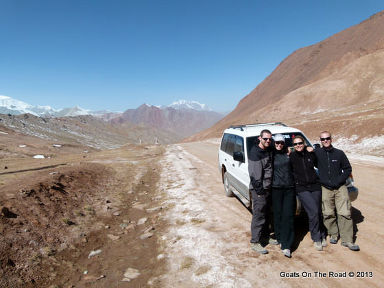 kyzal art pass pamir highway