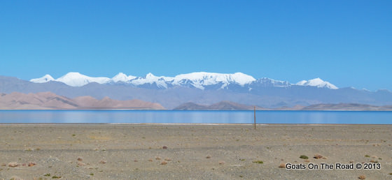 kara kul lake pamir mountains