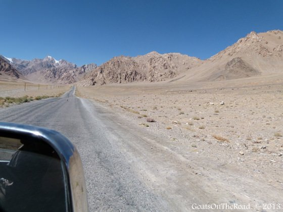 driving pamir highway