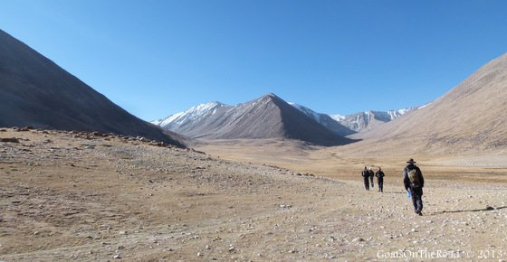 zong kol lake trek