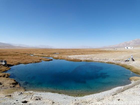 holy lake pamir