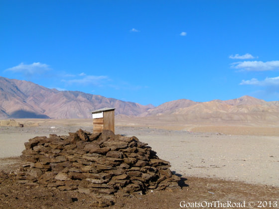 dung in pamirs