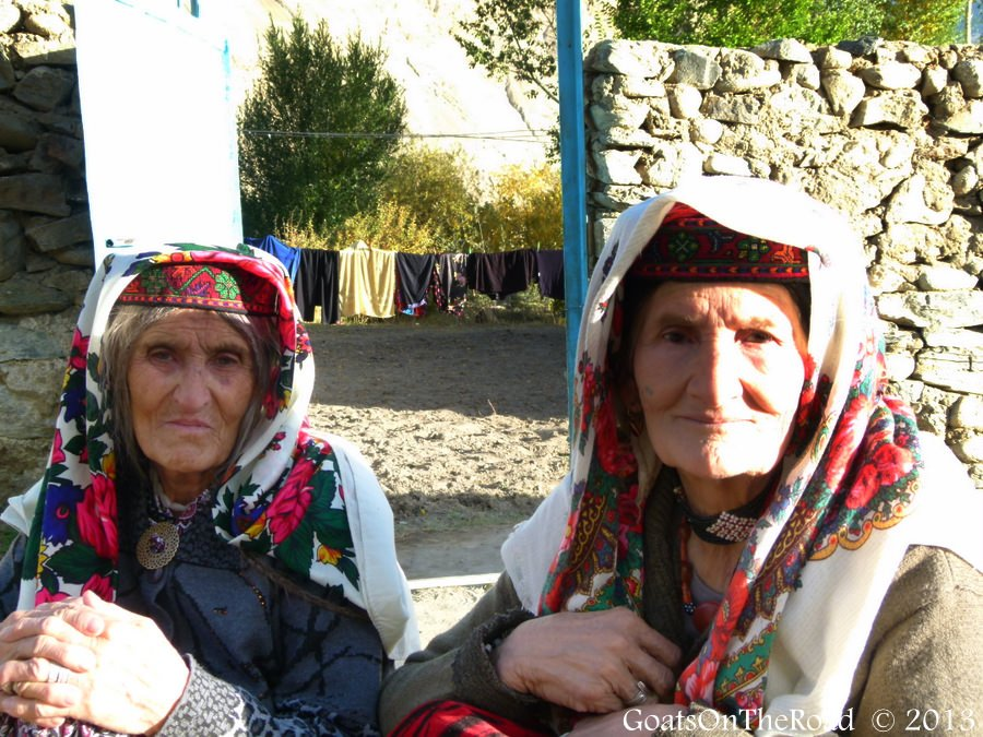 women in the pamirs