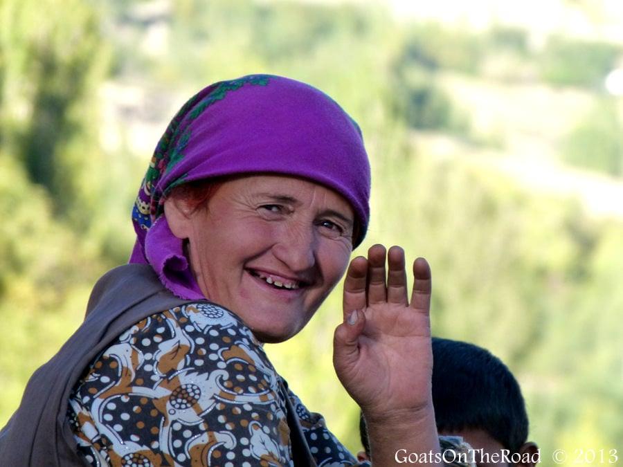 wakhan woman