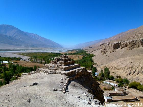 buddhist stupa pamir highway