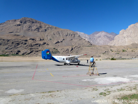 Small Plane Pamir Highway