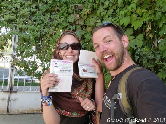 getting iran visa in dushanbe