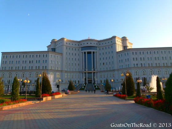 what to see in dushanbe