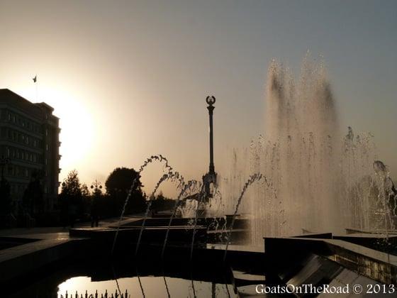 dushanbe parks