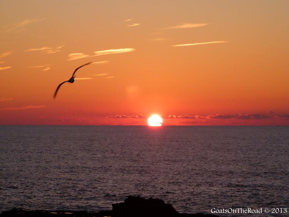 sunset essouira