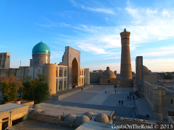 The Po-i-Kalyan square bukhara