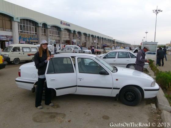 shared taxi uzbekistan to turkmenistan