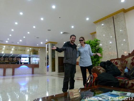 ak atlyn hotel ashgabat