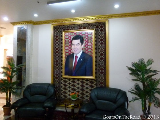 photo of turkmenistan president