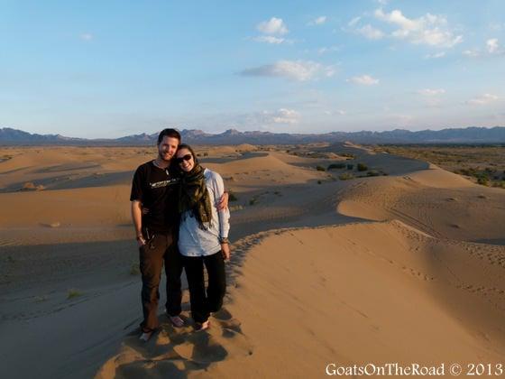 sand dunes garmeh
