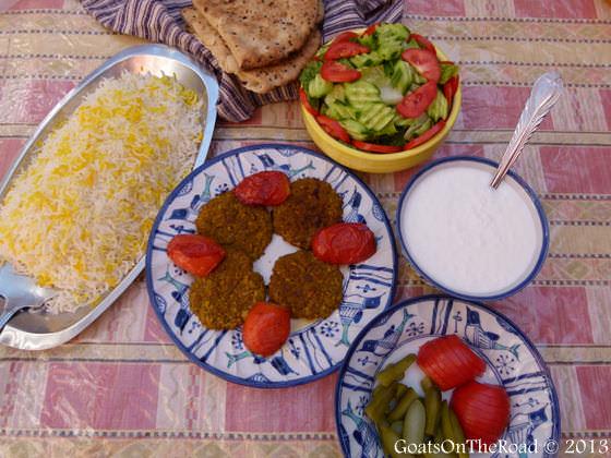 food in garmeh