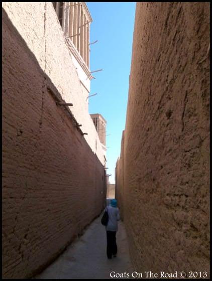 Yazd Lanes