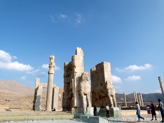 Entrance to persepolis