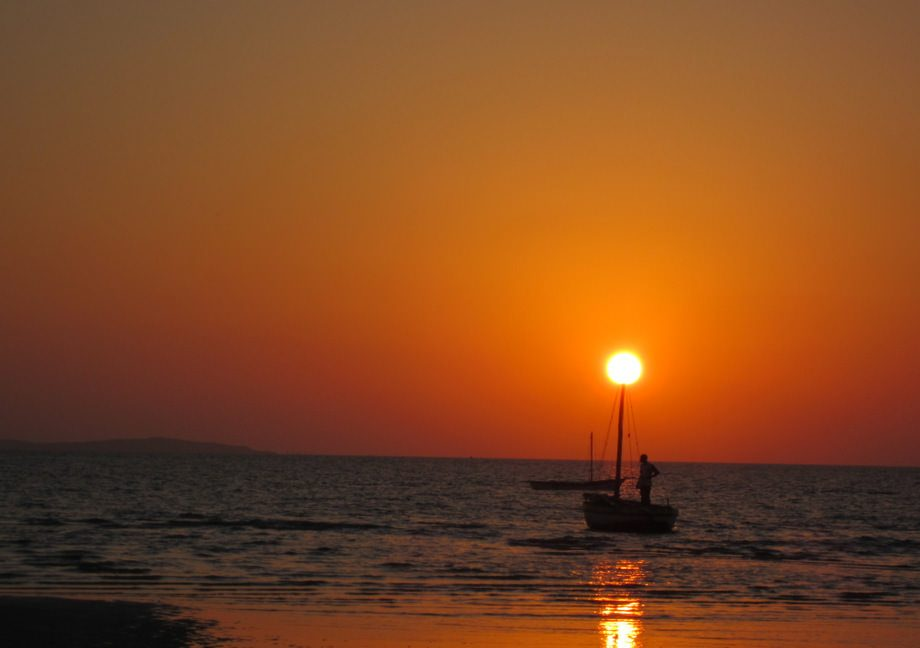 sunset in vilankulos mozambique quote about lovely sunsets