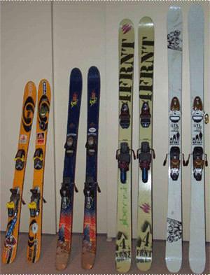 evolution of skis