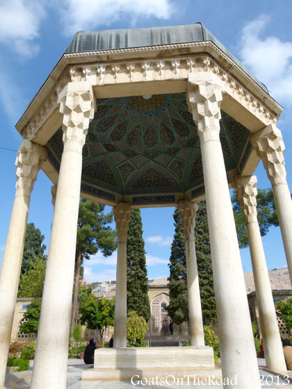 tomb of hafiz shiraz