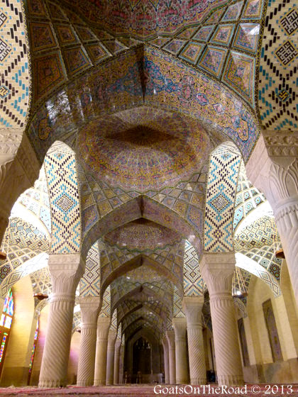 masjid e nasir al molk mosque shiraz