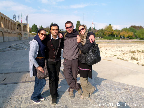 friends in esfahan