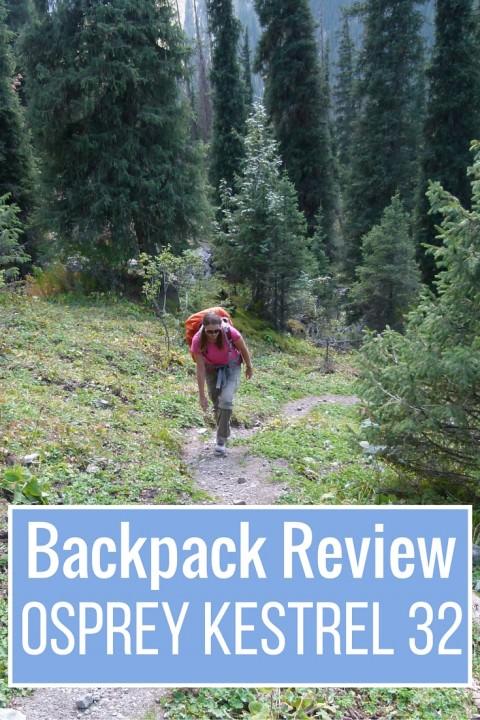 Backpack Review- Osprey Kestrel 32