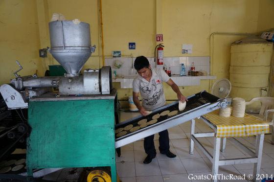 tortilleria making mexico