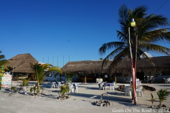 Beach Restaurant Holbox