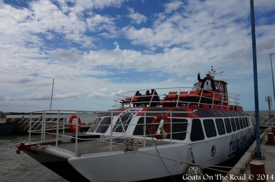 Ferry To Holbox Island