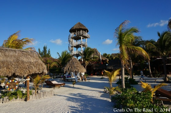 Natural Looking Resorts On Holbox