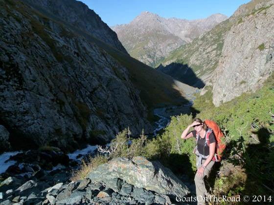 osprey kestrel 32 trekking