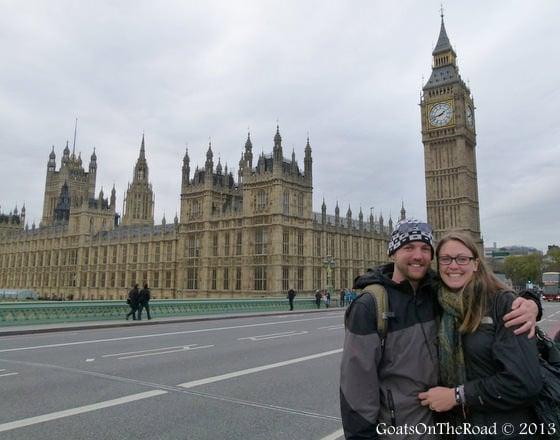 parliament and big ben london