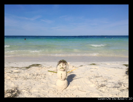 Snowman Cancun