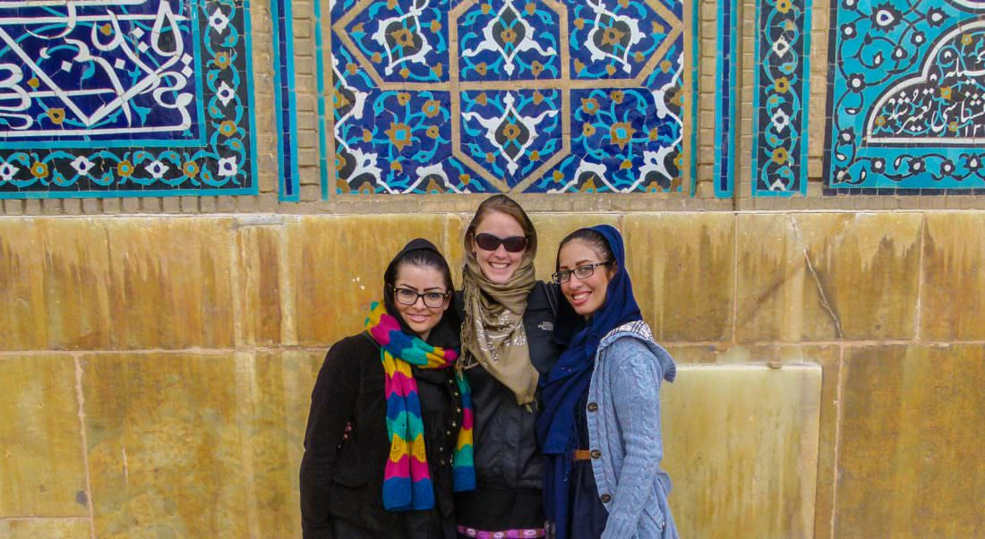 be a responsible traveller and dress appropriately in iran. respect culture and customs